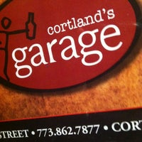 Photo taken at Cortland's Garage by RUSS on 4/22/2012