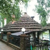 Photo taken at Рыбацкая Деревня Ресторан by Rita on 6/10/2012