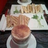 Photo taken at N Cafe' by Haksun K. on 7/17/2012