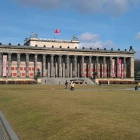 Photo taken at Altes Museum by Sergei Y. on 3/9/2012