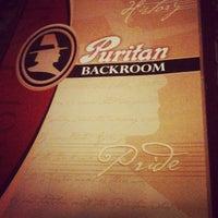 Photo taken at Puritan Backroom by Melanie V. on 5/10/2012