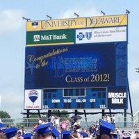 Photo taken at Delaware Stadium by Annie R. on 5/28/2012