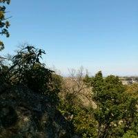 Photo taken at 高負彦根神社(ポンポン山) by nahci_k u. on 4/8/2012