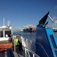 Photo taken at San Francisco Bay Ferry - Alameda Main Street Terminal by Matthew on 6/8/2012