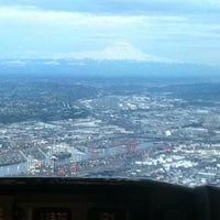 Photo taken at Boeing Field/King County International Airport (BFI) by Jamie A. on 3/27/2012