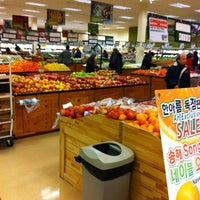 Photo taken at H-Mart by Landon S. on 2/18/2012