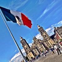 Foto tomada en Plaza de la Constitución (Zócalo) por Diego A. el 2/19/2012