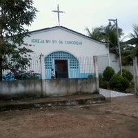 Photo taken at Igreja N. S. Conceicao by Ed C. on 7/8/2012