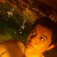 Das Foto wurde bei Cenote San Ignacio von Carlos J. am 7/19/2012 aufgenommen