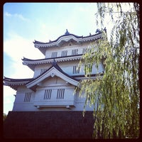 Photo taken at 忍城址 by Yukkie on 8/20/2012
