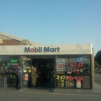 Photo taken at Mobil by Viciously M. on 5/8/2012