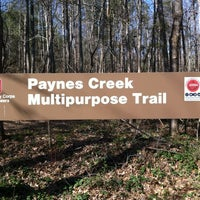 Photo taken at Payne's Creek Trail by Suzy N. on 3/12/2012