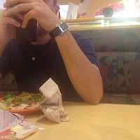 Photo taken at Straw Hat Pizza by megan h. on 7/10/2012