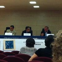 Photo taken at Centro Superior de Investigacion en Salud Publica CSISP by Amelie on 5/23/2012