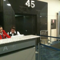 Photo taken at Gate 45 by J Paul D. on 4/20/2012