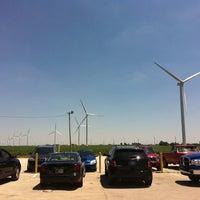 Photo taken at Meadow Lake Wind Farm by Ashley on 6/8/2012