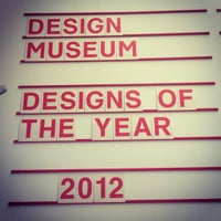 Photo taken at Design Museum by Natalie B. on 4/30/2012