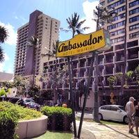 Photo taken at Ambassador Hotel Waikiki by 秀年 小. on 6/7/2012