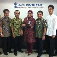 Photo taken at Bank Sumsel Babel Capem Koba by Arpani Z. on 5/4/2012