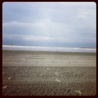 Photo taken at Easton's Beach by Bree S. on 7/28/2012