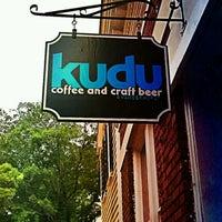 Photo taken at Kudu Coffee & Craft Beer by John G. on 4/19/2012