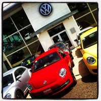 Photo taken at Southern Volkswagen at Greenbrier by Chris Costner on 5/12/2012