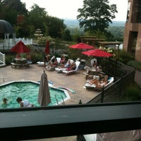Photo taken at Woodcliff Hotel and Spa by Joselito on 8/25/2012