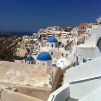Photo taken at Santorini by Victor on 8/6/2012