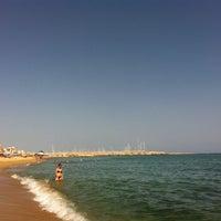 Foto tomada en Platja del Masnou por Cristina V. el 8/9/2012