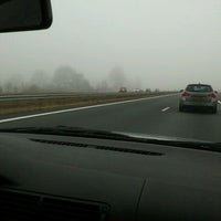 Photo taken at A7 Drachten - Groningen by cindy r. on 3/2/2012