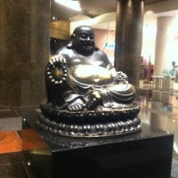 Photo taken at Big Buddah Statue at ARIA by GABBYiSACTiVE on 3/14/2012