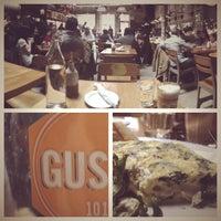 Photo taken at Gusto 101 by Ryan B. on 3/31/2012