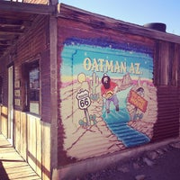 Photo taken at Oatman, AZ by Ria G. on 5/18/2012