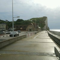 Photo taken at Veulettes-sur-Mer by Daniel N. on 6/14/2012