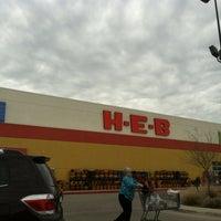 Photo taken at H-E-B by Scott R. on 2/12/2012