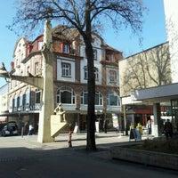 Photo taken at Singen (Hohentwiel) by Anna-Lena on 3/16/2012