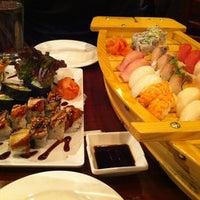 Photo taken at Makiman Sushi by Michael W. on 2/15/2012
