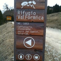 Photo taken at Rifugio Val Formica by Manuel C. on 3/25/2012