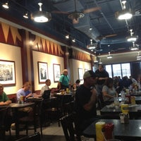 Photo taken at Bubba's Bayou City Grill by Daniel R. on 9/13/2012