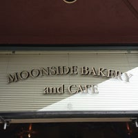 Photo taken at Moonside Bakery & Cafe by Felice L. on 4/29/2012