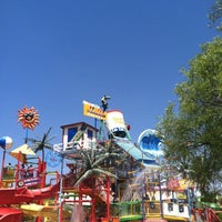 Photo taken at Six Flags Hurricane Harbor by James L. on 8/10/2012