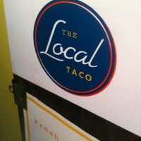 Photo taken at The Local Taco by Shannon S. on 6/11/2012