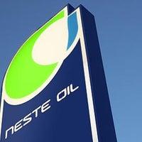 Photo taken at Neste Oil АЗС №528 by Olga K. on 2/24/2012