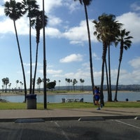 Photo taken at Mission Bay Park by Seoyoon R. on 4/10/2012