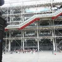 Photo taken at Place Georges Pompidou by Ahora H. on 7/5/2012