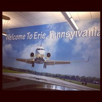 Photo taken at Erie International Airport (ERI) by Linda L. on 8/21/2012