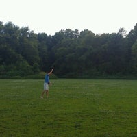 Photo taken at Cherokee Park Frisbee/Rugby Field by Nathanael B. on 6/25/2012