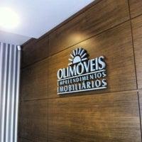 Photo taken at Olimóveis Empreendimentos Imobiliários by Auber C. on 6/8/2012