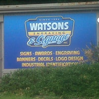 Photo taken at Watson's Engraving by Sam S. on 8/10/2012