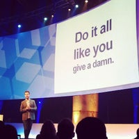Photo taken at The Next Web Conference by Nico G. on 5/7/2012